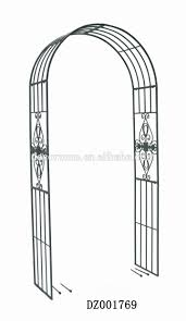 metal flower garden arch trellis with lever file clip buy garden