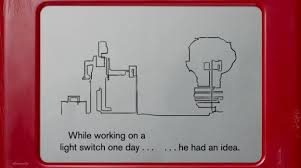 animated short about etch a sketch inventor made on actual etch a