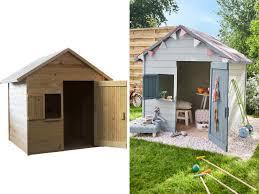 maisonnette de jardin enfant cabane enfant pas cher maginea cabane en bois sur pilotis