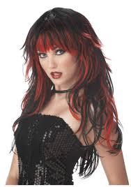 women u0027s vampire wig vampire costumes and accessories
