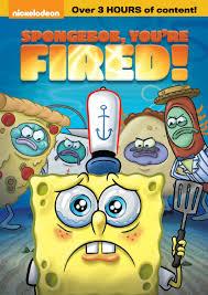 spongebob you u0027re fired dvd