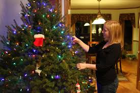 old fashioned decorated christmas trees photo tree how to decorate