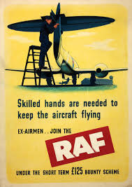 british raf royal air force recruitment print poster sizes a4 a3
