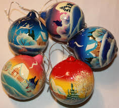 christmas gifts wooden ornaments hand painted wooden