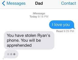 Think Before You Text Your - funny texts from parents 26 dad mom messages freemake