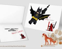 batman congratulations card lego batman card etsy