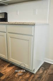 New Kitchen Furniture We Painted Our Brand New Kitchen Cabinets And Here U0027s How It Turned