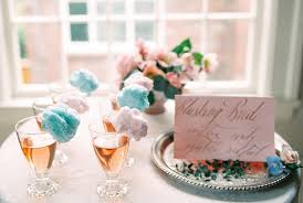 cotton candy wedding favor quartz and serenity wedding inspiration bajan wed