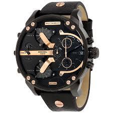 diesel black friday deals diesel mr daddy 2 0 chronograph black dial black leather men u0027s