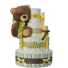 brand new baby 4 tier diaper cake baby shower diaper cakes