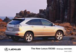 lexus rx300 model 2003 new lexus rx300 makes its world debut at the detroit motor show