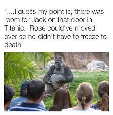 Gorilla Memes - ted talks gorilla meme by jack the raper memedroid