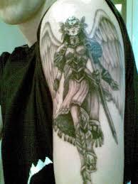 guardian on arm tattooshunt com