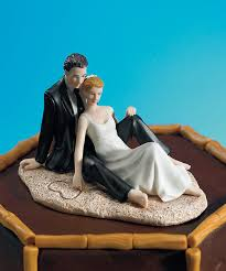 wedding cake toppers theme unique wedding cake toppers