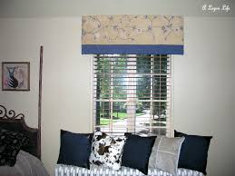 fabric covered window cornice my repurposed life