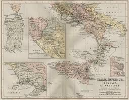 Ancient Map Italy And Sicily Ancient Map Italy U2022 Mappery
