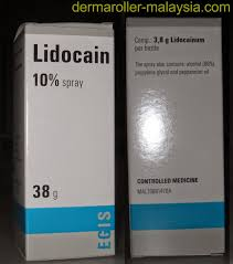 buy lidocaine numbing cream anesthetic for sale in malaysia
