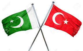 Libyas Flag Pakistan Flag Combined With Turkey Flag Stock Photo Picture And