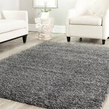 decorating cozy square solid white shag rug by safavieh rugs on