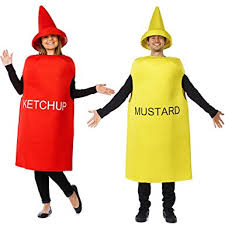 costumes couples tigerdoe ketchup and mustard costume couples