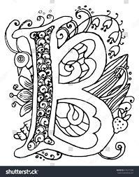 drop cap floral ornaments vector illustration stock vector