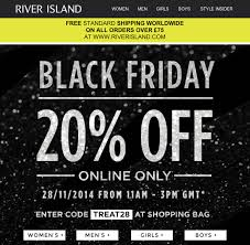uniqlo black friday black friday email marketing eight retail examples econsultancy