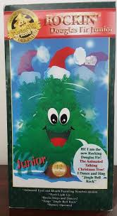 image rockin u0027 douglas fir junior talking animated christmas