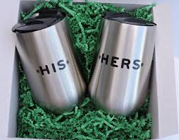 his and hers flasks all laughing leprechaun