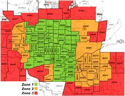 Zip Code Map Jacksonville Fl by Map Of Phoenix Zip Codes Afputra Com