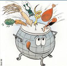 dessins de cuisine de presse économiste