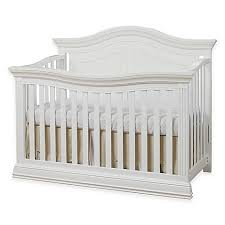 Convertible White Crib Sorelle Providence 4 In 1 Convertible Crib In White Buybuy Baby