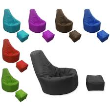 Leather Bean Bag Chairs For Adults Bedroom Black Vinyl Gaming Bean Bag Seating Which Furnished With