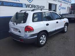 hyundai santa fe 05 2005 hyundai santa fe 4x4 05 update 4d wagon for sale in