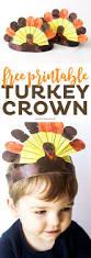 free thanksgiving turkey free printable thanksgiving turkey crowns printable crush