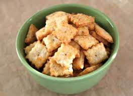bake cheese crackers for gift giving