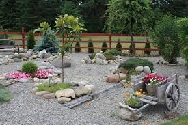 Rock Garden Designs For Front Yards Vibrant Rock Garden Designs Front Yard For Yards With Home