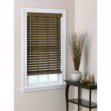 Blind Sizes Standard Bedroom The Bamboo Blinds 2 Inch Slats In Chestnut Free Shipping