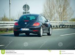 volkswagen germany vw beetle on german autobahn editorial photography image 49462992