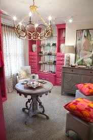 pink decorating ideas pink rooms hgtv s decorating design glam walk in