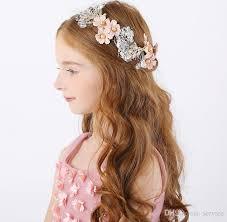 flower girl hair accessories dreamy romanticism pieces children hair flower