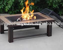 Patio Fire Pit Table Patio U0026 Pergola Gratifying Suitable Fire Pit Table Set Propane