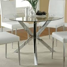 Small Glass Dining Table And 4 Chairs Black Glass Dining Table Narrow Rectangular Table Decorating With