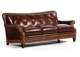 Distressed Chesterfield Sofa Hancock Tufted Distressed Brown Italian Chesterfield Leather Sofa