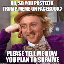 How To Post A Meme On Facebook - creepy condescending wonka meme imgflip