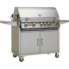 bull brahma 38 inch 5 burner freestanding propane gas grill bbq guys