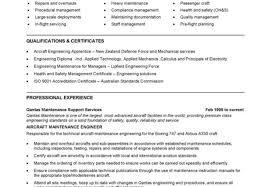 resume format for boeing maintenance engineering resume quality engineer resume download