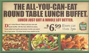round table pizza all you can eat luxury round table lunch buffet hours l44 in wow home decor