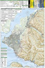Denali National Park Map Chugach State Park Anchorage National Geographic Trails