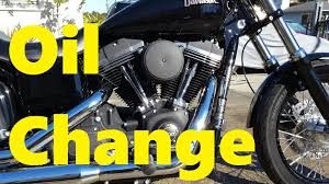 500 mile oil change 2015 dyna street bob fxdb youtube