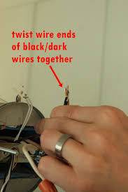 How To Connect Light Fixture Wires Excellent Basic Light Fixture Wiring Contemporary Electrical